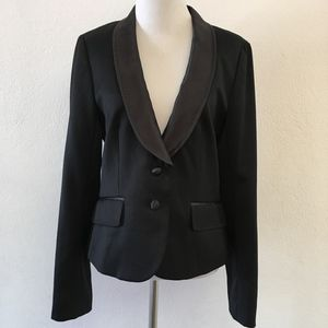 J.Crew Collection Tuxedo Jacket Size 10 Black